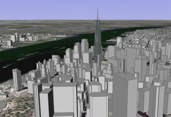 WTC-projet Freedom Tower