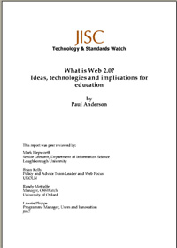 What is Web 2.0 ? Ideas, technologies and implications for Education