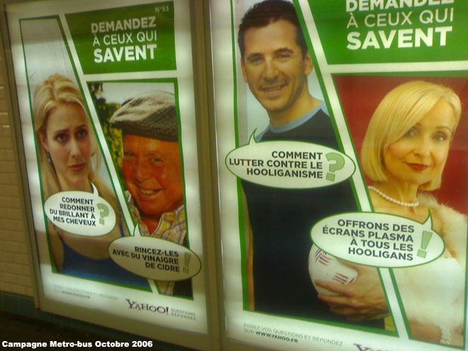 Yahoo! Answers : campagne France 2006
